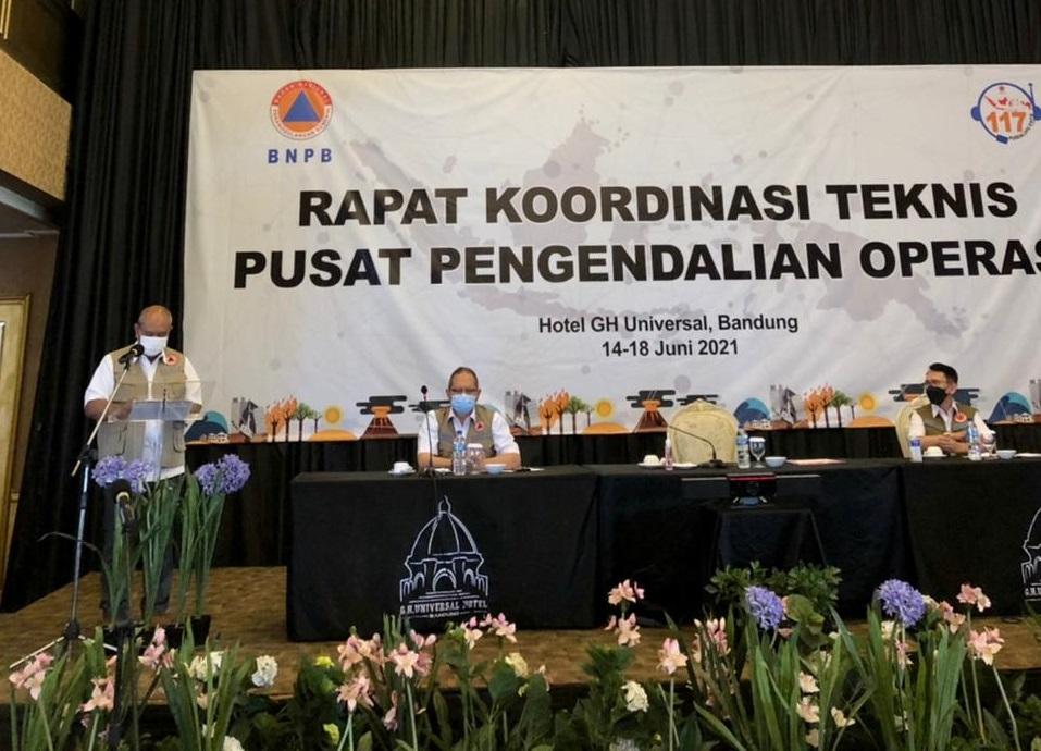 Melalui Rakortek, BNPB Perkuat Peran dan Fungsi Pusdalops Daerah