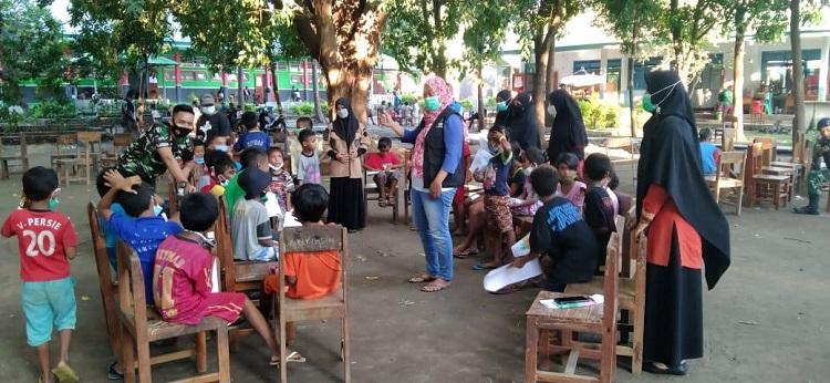 Nasyiatul Aisyiyah Lembata Dampingi Anak-Anak Penyintas Banjir NTT