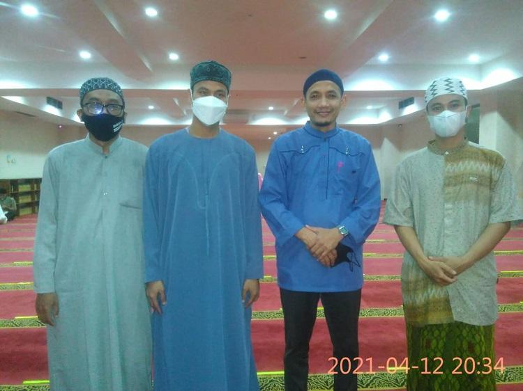 Rapat Pleno PB HMI MPO, Sekaligus Taraweh Perdana di Masjid Nurul Izah Tangsel