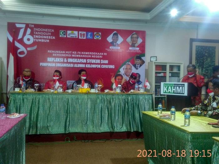 Dr Sahat Sinaga (Sekjen Senior GMKI ) : 76 Tahun RI, Bersama Usia  Akbar Tanjung