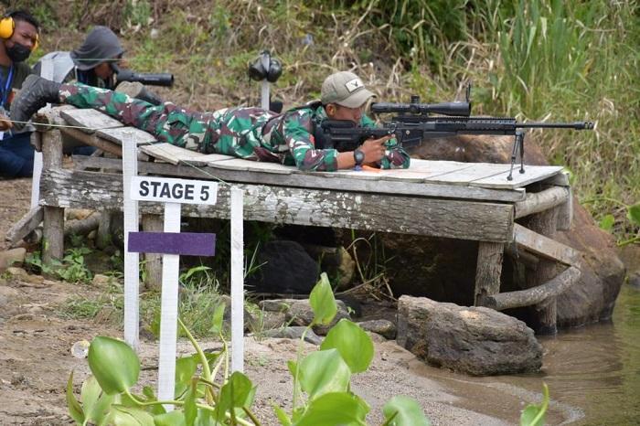1st Indonesia Internasional tactical Long Range Shooting GP seri 3 2021 di kawasan Danau Toba