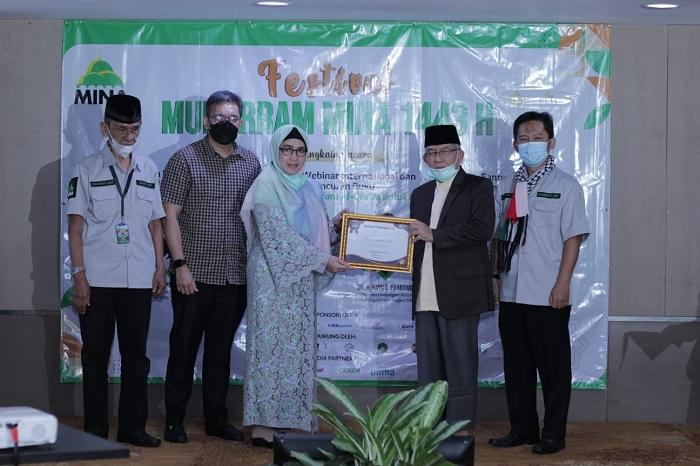 Penghargaan Muhyiddin Hamidy untuk Penulis Paling Produktif dan Inspiratif