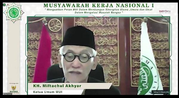 Mukernas MUI, Kiai Miftach: Islam Wasathiyah Harus Terus Disuarakan