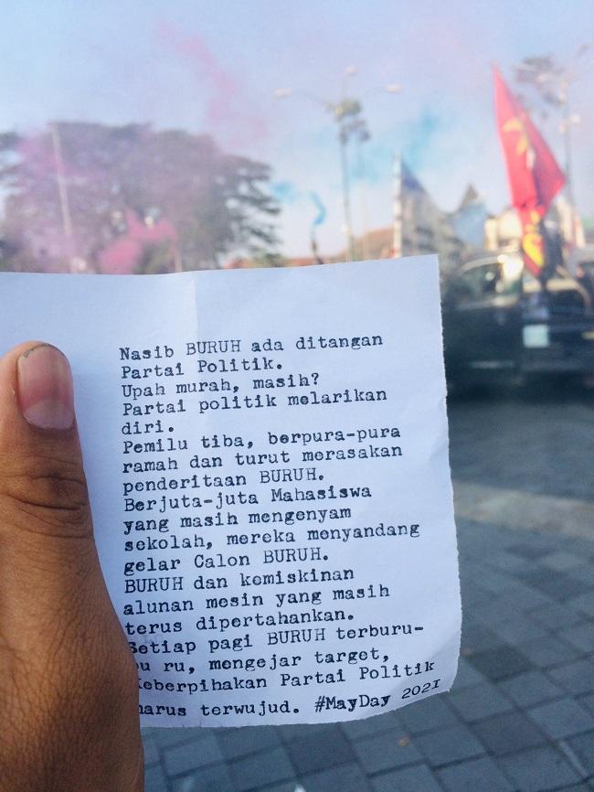 Tuntutan Buruh Indonesia Kepada Mahkamah Konstitusi Republik Indonesia