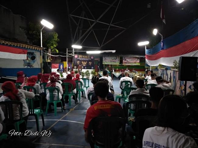 Acara Pembukaan HUT RI Ke-76 Berlangsung di Fasum RW 012 Jatinegara