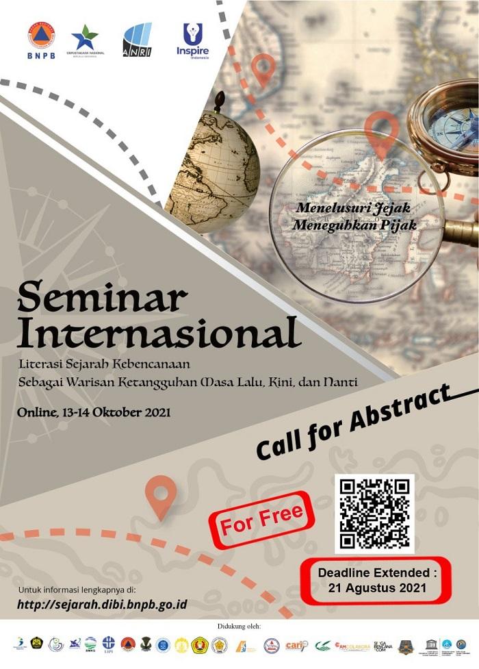 Seminar Internasional Literasi Sejarah Kebencanaan