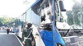 Transjakarta Sediakan Ratusan Bus