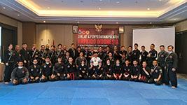 Hapkido Indonesia Selenggarakan Diklat dan Penyegaran Pelatih Tingkat Nasional