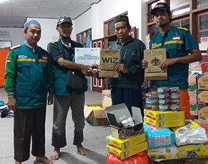 WIZ Salurkan Bantuan untuk Korban Banjir Bandang Sukabumi